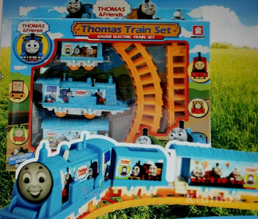 Паровозик томас на батарейках и железная дорога, новый фото №1