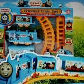 Паровозик Томас на батарейках и железная дорога, новый