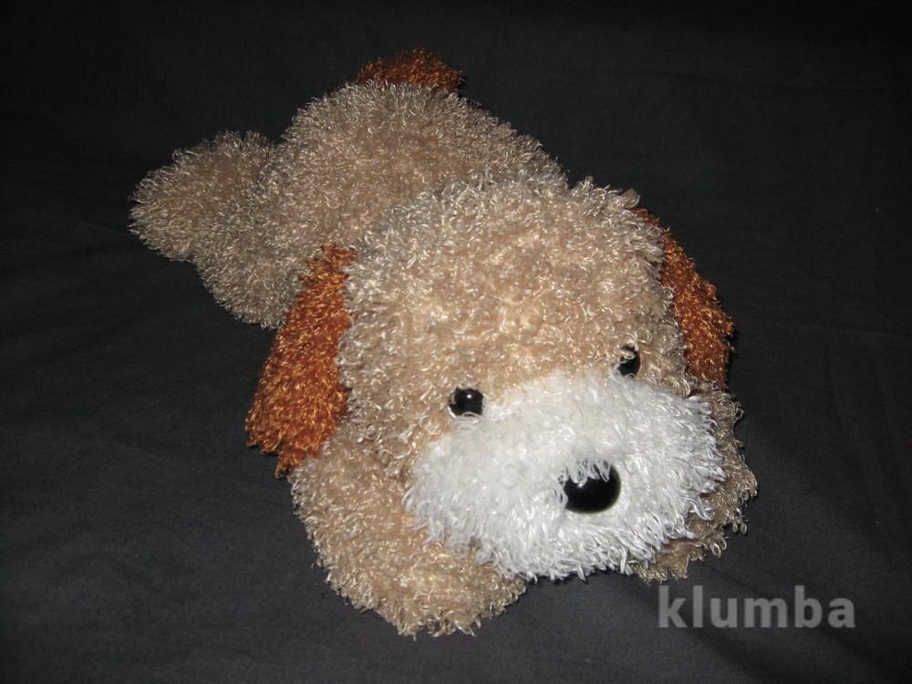 Большая мягкая собачка-подушка фото №1