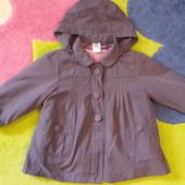 Пальто-куртка 2в1 Zara (12м-2-2,5г)