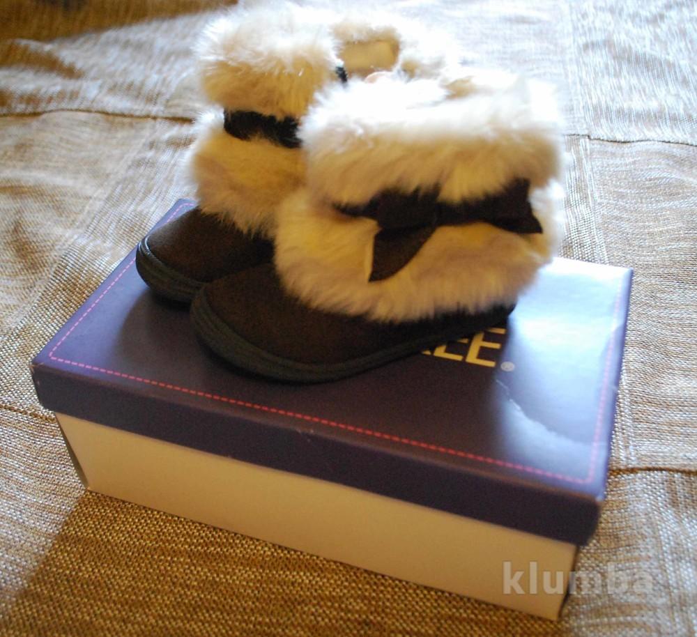 Ботинки демисезонные cherokee для девочки из америки в коробке новые на 2-3года  фото №3