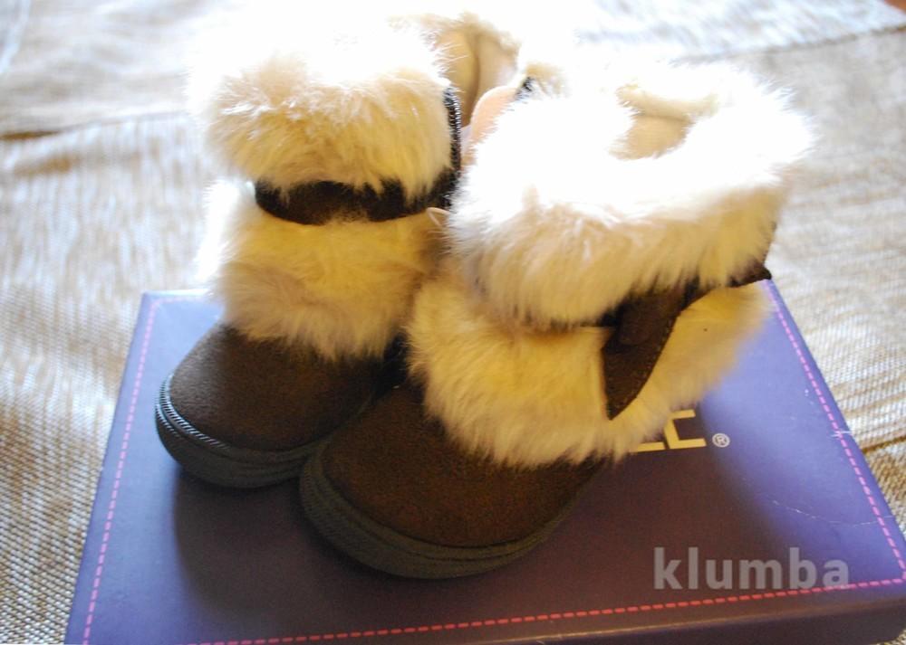 Ботинки демисезонные cherokee для девочки из америки в коробке новые на 2-3года  фото №4