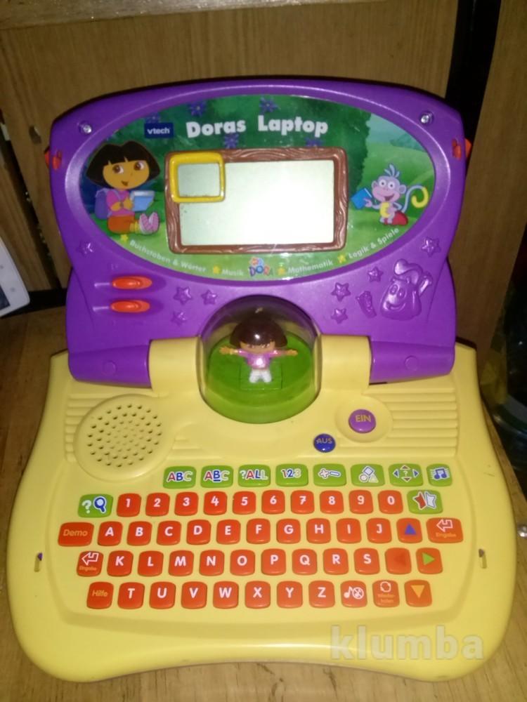 Интерактивный ноутбук vtech dora даша следопыт актуально фото №1