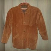 Куртка пиджак  замшевая натуральная 54-56размер (50европ.)