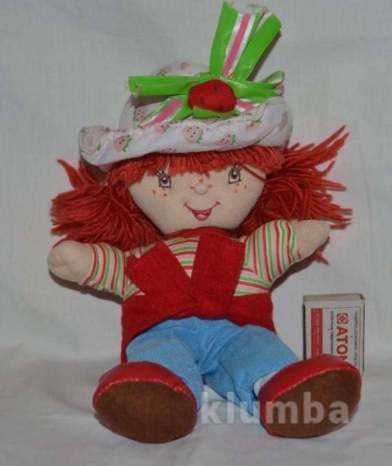 Фирменная мягко набивная кукла клубничка ягодка симпатяжка strawberry фото №1