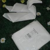 Кухонные белые полотенца 4 шт набор, новые, отличное качество! 100% хлопок. Белосежные.
