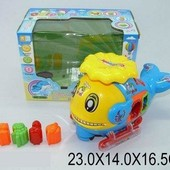 Музыкальная игрушка - сортер Дельфин 3193, в коробке