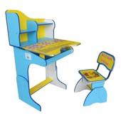 Парта + стул E2071 Веселой учебы