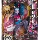 куколка Монстер хай Авеа троттер monster high Freaky fusion Bonita Femur doll mattel