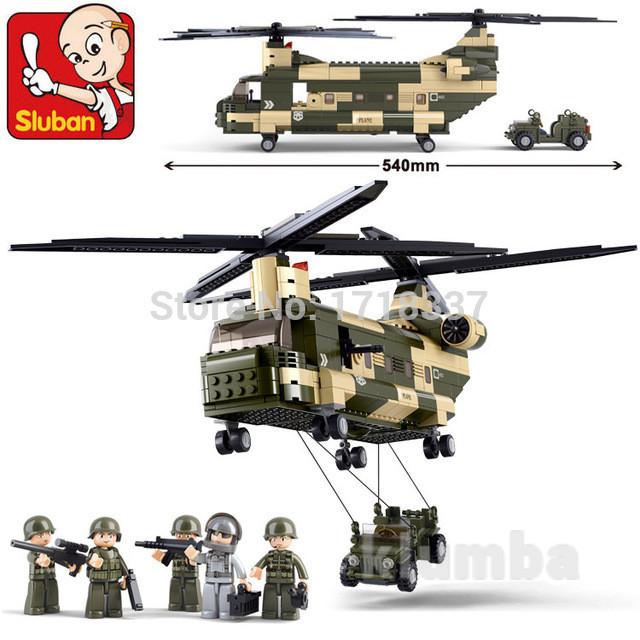Конструктор m38-b0508 вертолет слубан sluban 0508 фото №1