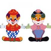 Набор «Гардероб для клоуна», Bino (Чехия, дерево)