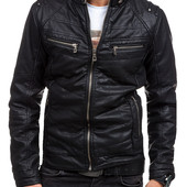 Мужская еко-кожаная куртка