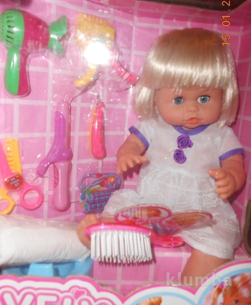 Кукла функциональная с парикмахерским набором фото №1