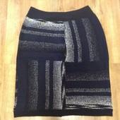 Теплая женская юбка, размер 52-54.
