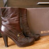 Продам фирменные кожанные ботинки Fellini 39р.