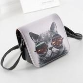 Женская сумочка с котом