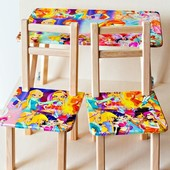 Стол деревянный + 2 стула серии винкс winx