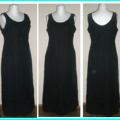 брэндовое платье макси лен,вискоза,48-50р,16 евр.