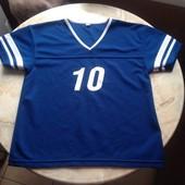 Спортивная футболка на мальчика размер 146/152