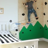 Детский скалодром Лесочек, 1,25*2м, Доставка бесплатная!
