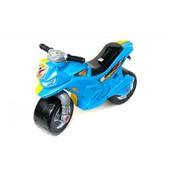 Мотоцикл желто-голубой.Суперцена!