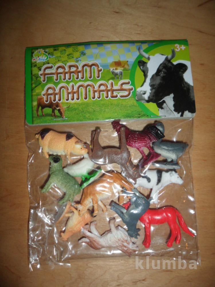 )набор домашних животных 12 шт   фото №1