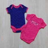 Новый комплект бодиков для маленькой принцессы. George. Размер 0-1 месяц.