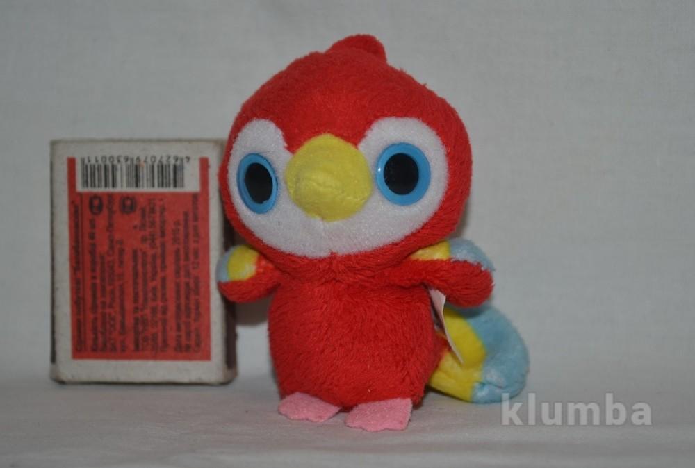 Брелочек глазастик лупастик симпатяшка попугай есть другие фото №1