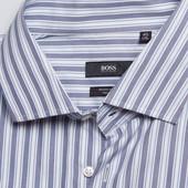 Рубашка под запонку Hugo Boss, большой размер