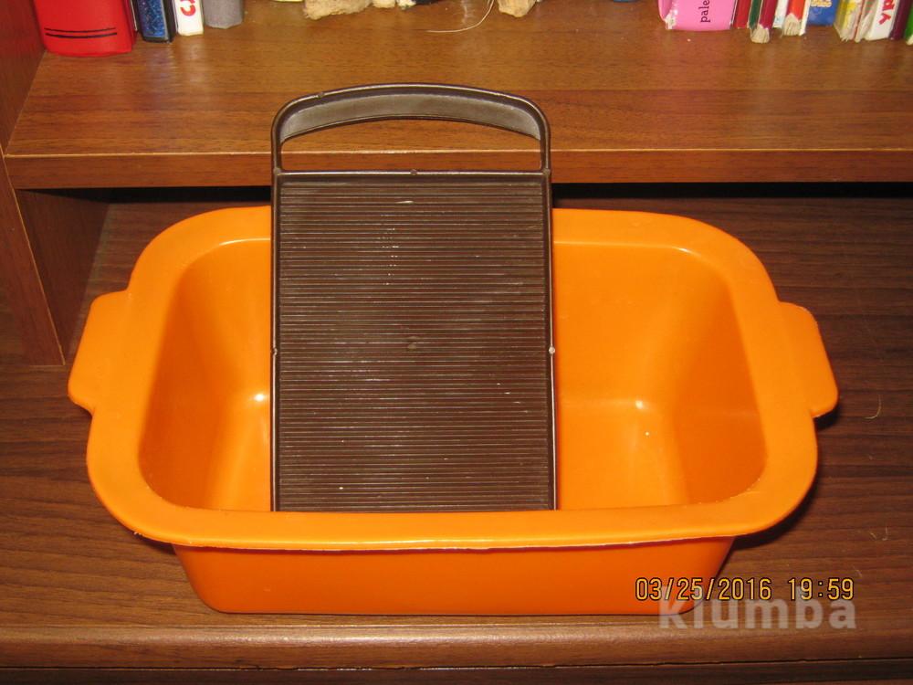 Кукольная ванночка и стиральная доска фото №1