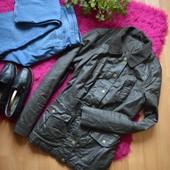 Крутая вощеная куртка демисезон,р-р М-Л
