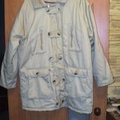 Куртка котонова велика
