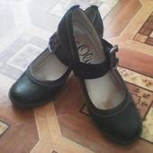 кожаные туфли, фирменные