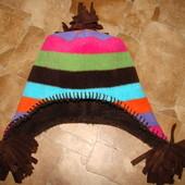 теплую супер шапка Gap s/m 4-8 лет 52-54 см состояние новой