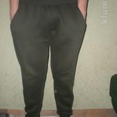 мужские теплючие штаны