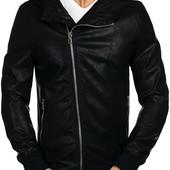 Мужская кожаная куртка косуха(кожзам)