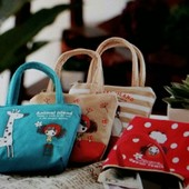 Детские тканевые сумочки, для маленьких модниц, новые