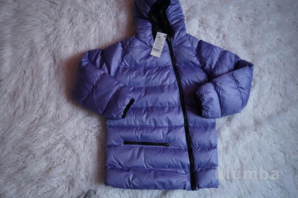 Куртка, новая, демисезонная для девочки, р. 119, 122, 128, 134, 140, 146, 152, 158, 161 фото №3