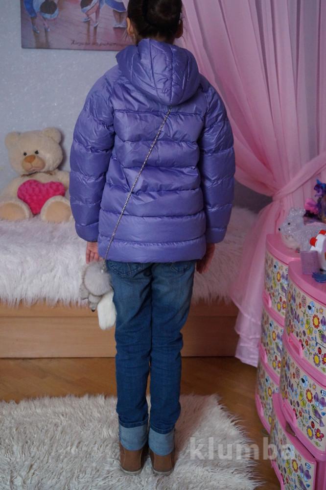 Куртка, новая, демисезонная для девочки, р. 119, 122, 128, 134, 140, 146, 152, 158, 161 фото №2