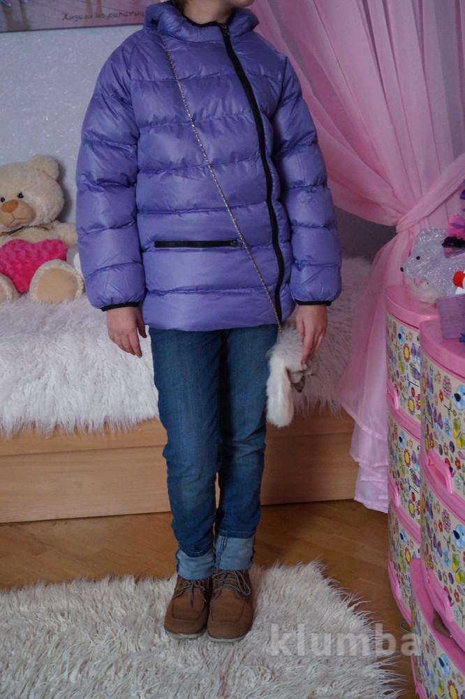 Куртка, новая, демисезонная для девочки, р. 119, 122, 128, 134, 140, 146, 152, 158, 161 фото №1