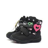 Термо- ботинки  для девочки. (23р. - 28р.) есть скидки!!! доставка бесплатная!!!