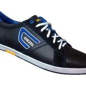 Кожаные кроссовки Diesel Limited Collection