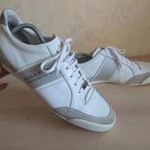 Мокасины спортивные туфли Барберри Burberry 44-45 р 30 см кожа оригинал