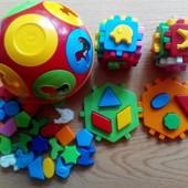 Развивающие кубики сортеры