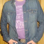 Фірмова брендовая  джинсовая курточка пиджак Cedar Wood State.Л.