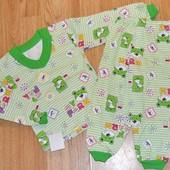Пижама под бейку (начес) рост 69-72