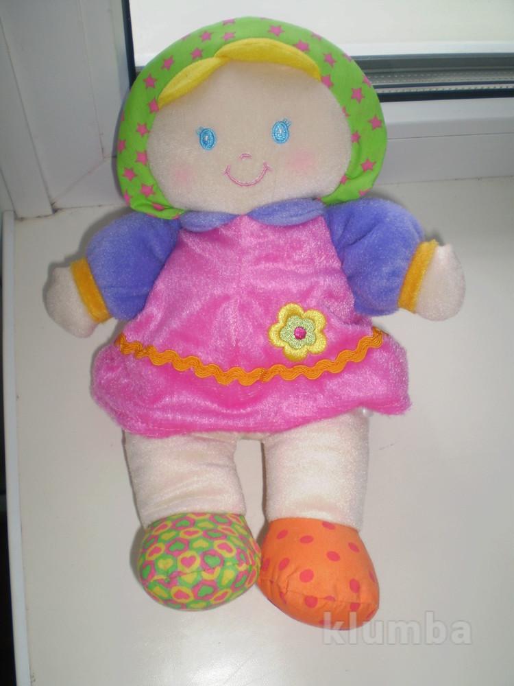 Мягкая кукла - пупс little tikes 28 см фото №1