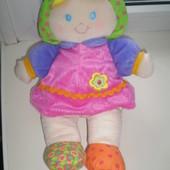 мягкая кукла - пупс Little tikes 28 см