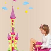 Интерьерная наклейка на стену Замок Принцессы