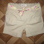 На 3-4,5 года Стильные шорты H&M девочке